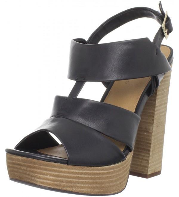 MIA Womens Teardrop Platform Sandal