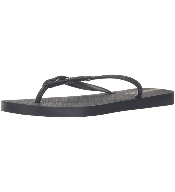 Ipanema Womens Glitter Flip Black