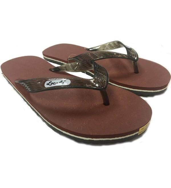 Locals Brown Slipper Size inches