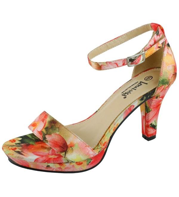 LenaLuisa DSW 91 Floral Platform Heel