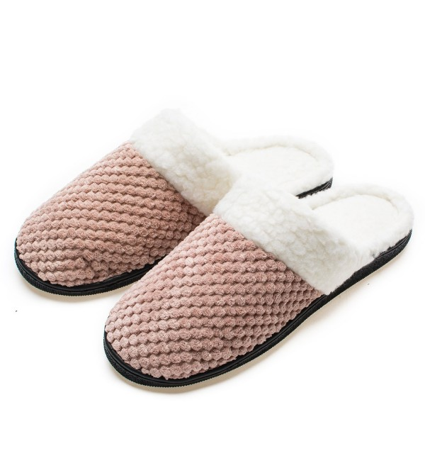 YQXCC Comfort Cashmere Knitted Slippers