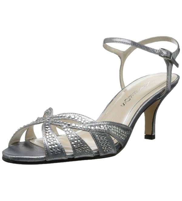 Caparros Womens Heirloom Sandal Silver