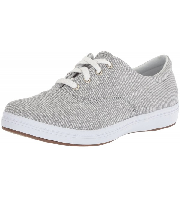 Grasshoppers Womens Textural Sneaker Drizzle