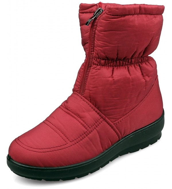 MOSHU Womens Waterproof Antiskid Booties