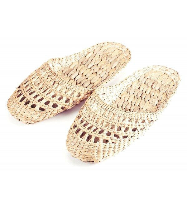 Gaia Guy Natural Handmade Slippers