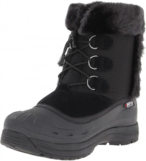 Baffin Womens Snobunny Snow Black