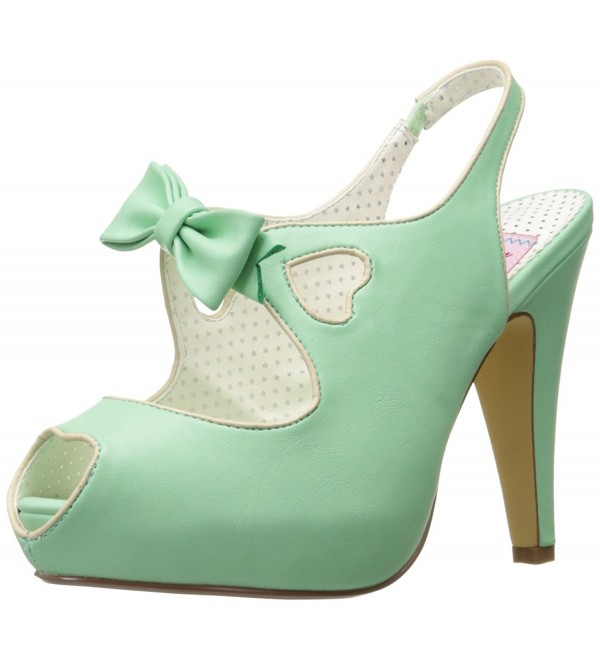 Pin Up Couture Platform Leather