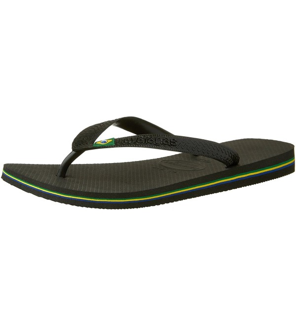 Havaianas Mens Brazil Sandal Black