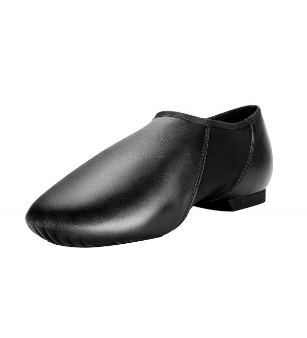 Modern Leather Slip Jazz Black 7 5M