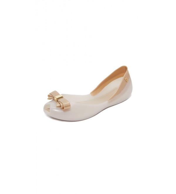 Melissa Womens Queen Ballet White