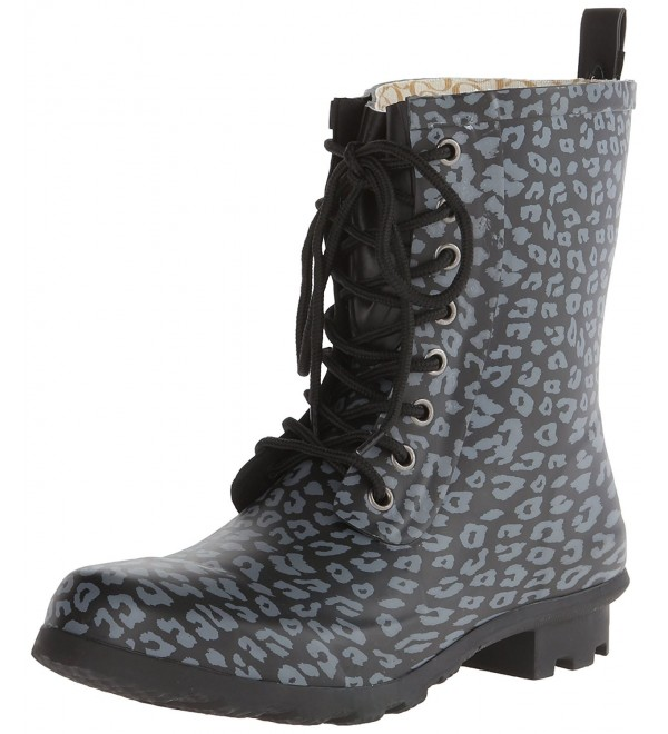 Chooka Womens Fashion Duck Leopard