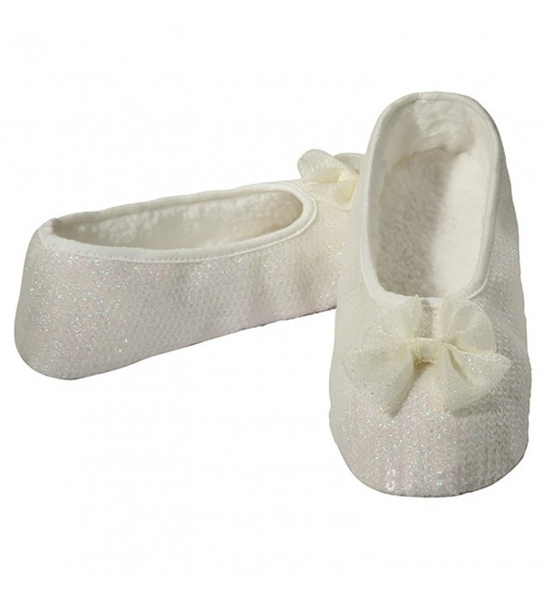Snoozies Womens Prism Ballet Slipper