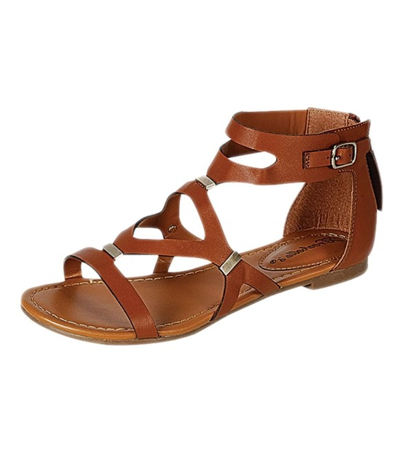 Breckelles Ruby 61 Strappy Gladiator Sandals