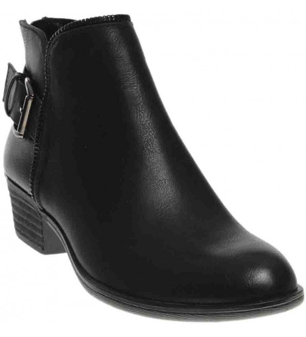 Corkys Zipper Womens Boot Black