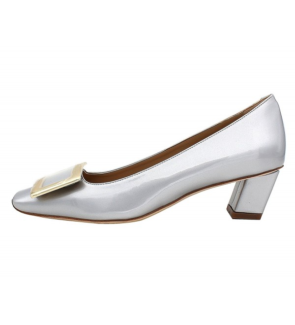 MiWIG Womens Square Leather Formal