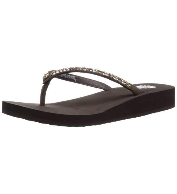 Yellow Box Womens Sandal Bronze