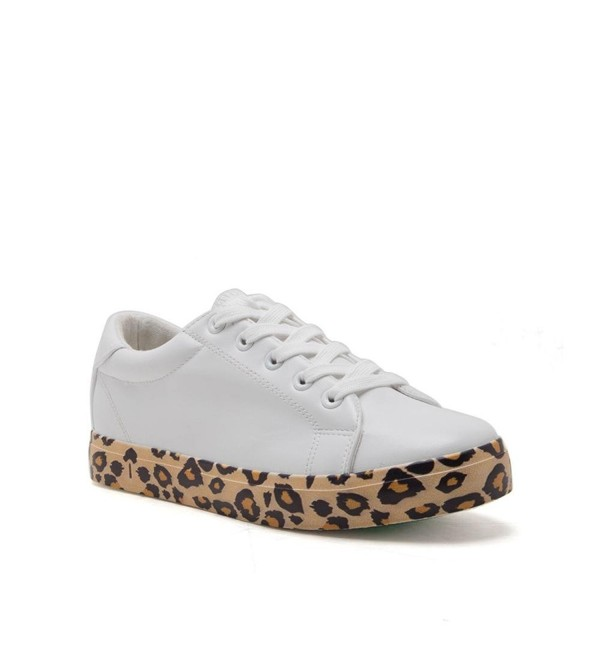 Qupid Leather Fashion Sneakers Sillie 01