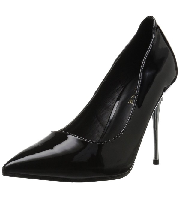 Pleaser Womens Appeal 20 Black Patent