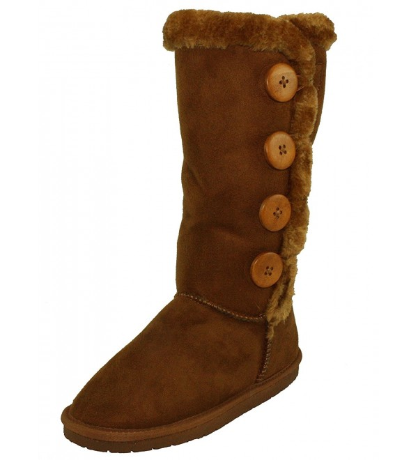 Forever Womens Anissa 3 Round Toe Mid Calf