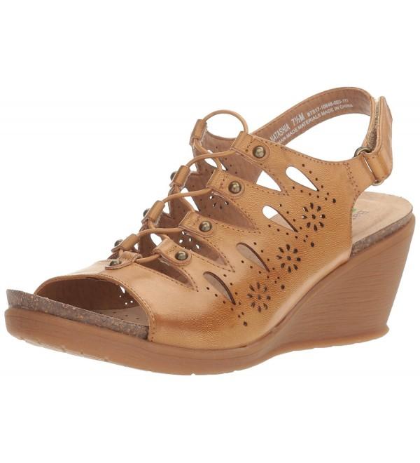 BareTraps Womens Natashia Sandal Auburn