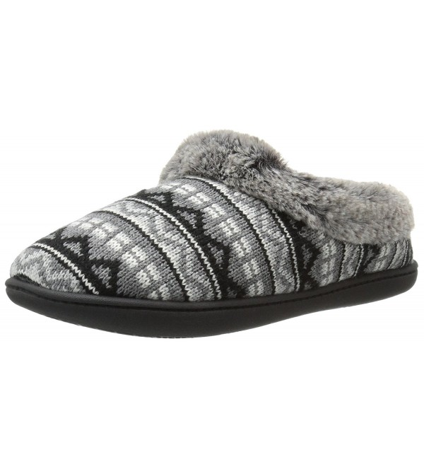 Dearfoams Womens Sweater Slipper Multi