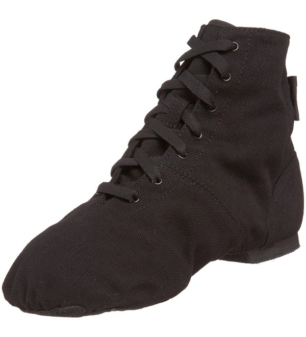 Sansha Soho Lace Up Black Womens