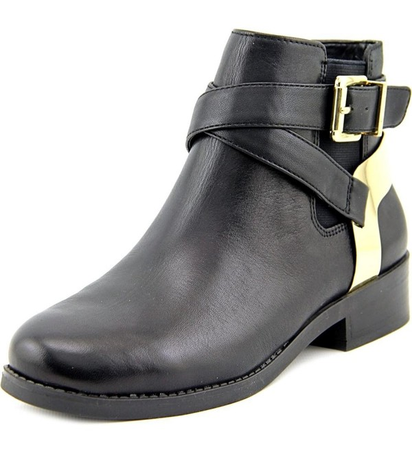 BCBGeneration Womens Leather Booties Harness
