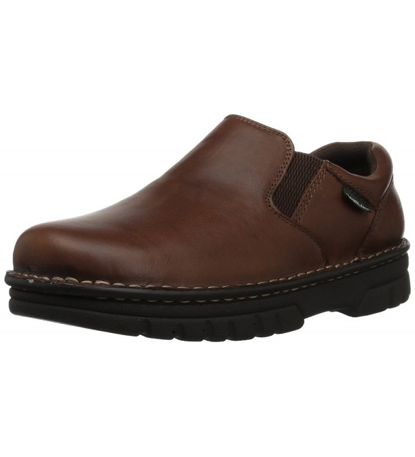 Eastland Mens Newport Brown Leather