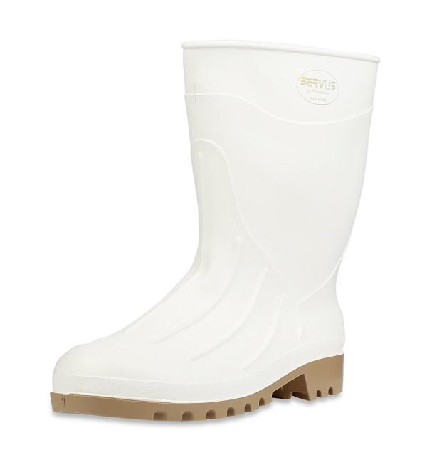 Servus Polyblend Shrimp Boots White