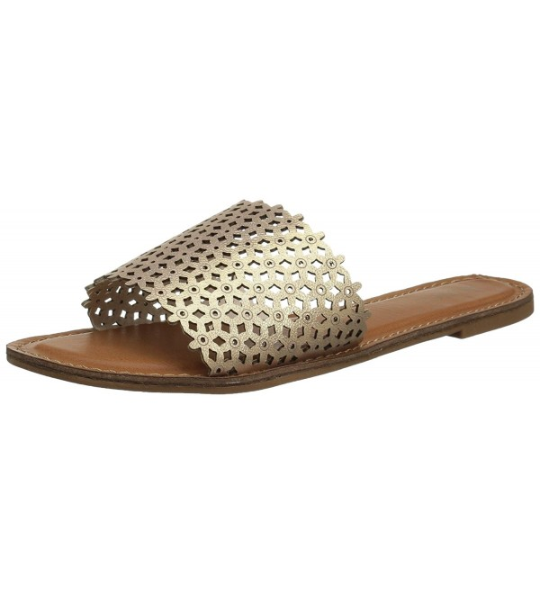 XOXO Womens Rachad Flat Sandal