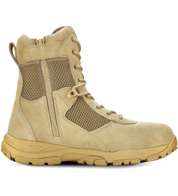 Maelstrom LANDSHIP Tactical Boots Zipper