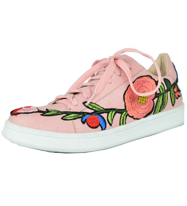 Chase Chloe Embroidered Fashion Sneaker