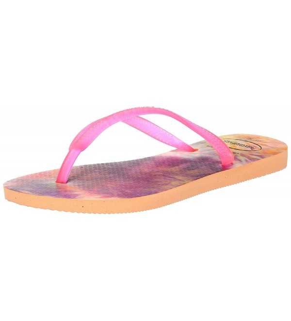 Havaianas Womens Slim Sandal Peach