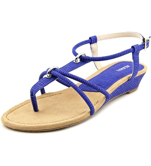 Alfani Womens Casual T Strap Sandals
