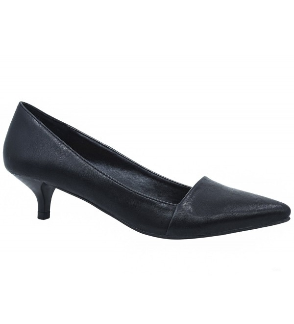 Greatonu Womens Pointed Kitten Walking