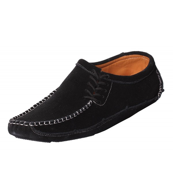 CAIHEE Loafers Driving Mocassins Lace up