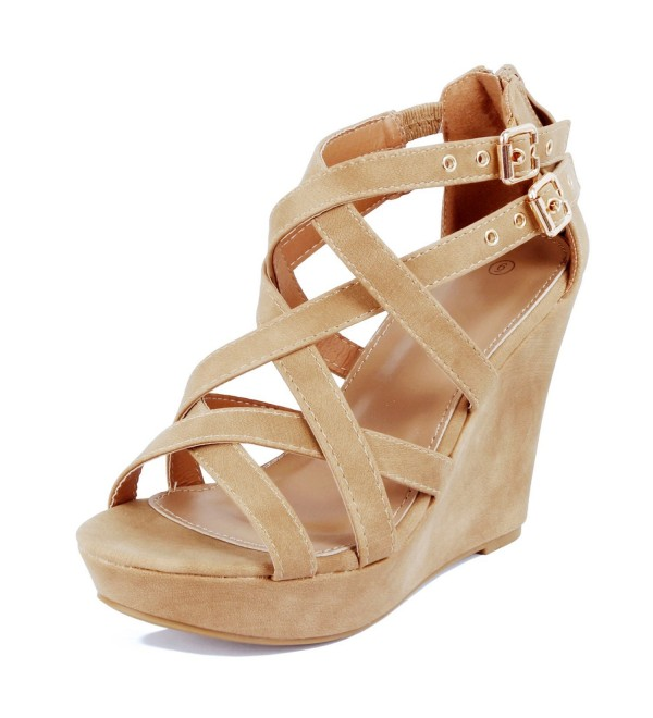 Guilty Shoes Gladiator Tan 8 5
