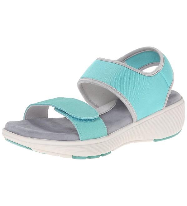 Softwalk Womens Elements Sandal Turquoise