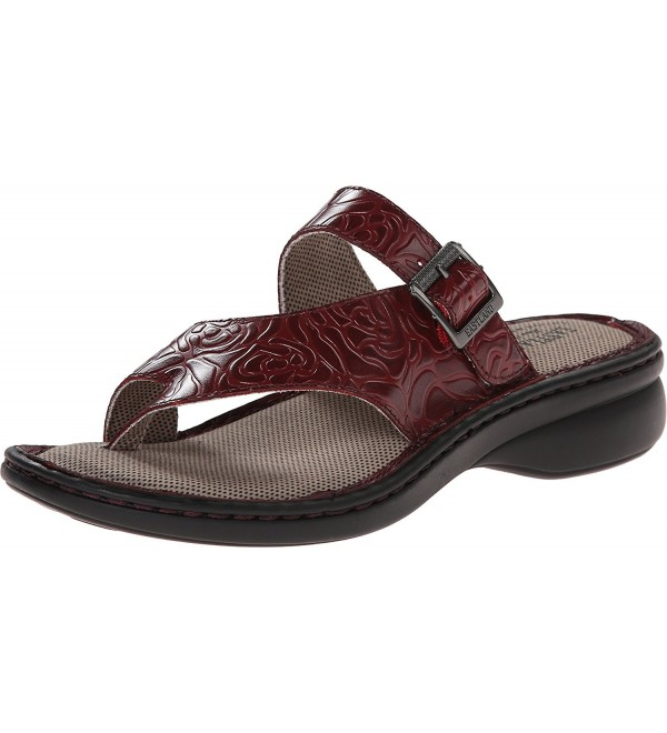 Eastland Womens Townsend Sandal Tooled