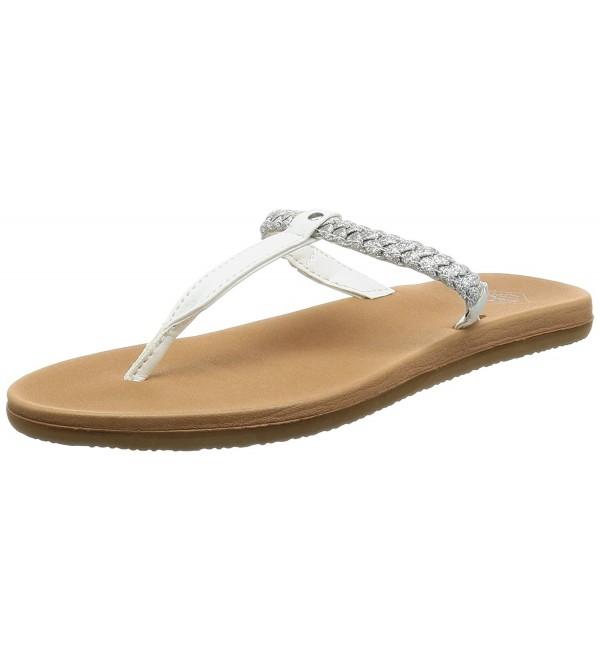 Freewaters Womens Sandal Silver Metallic