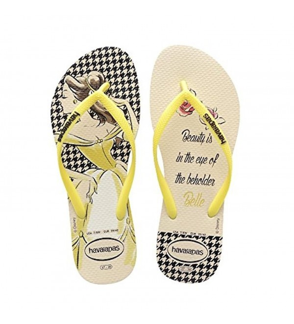 Havaianas Womens Princess Yellow Sandal