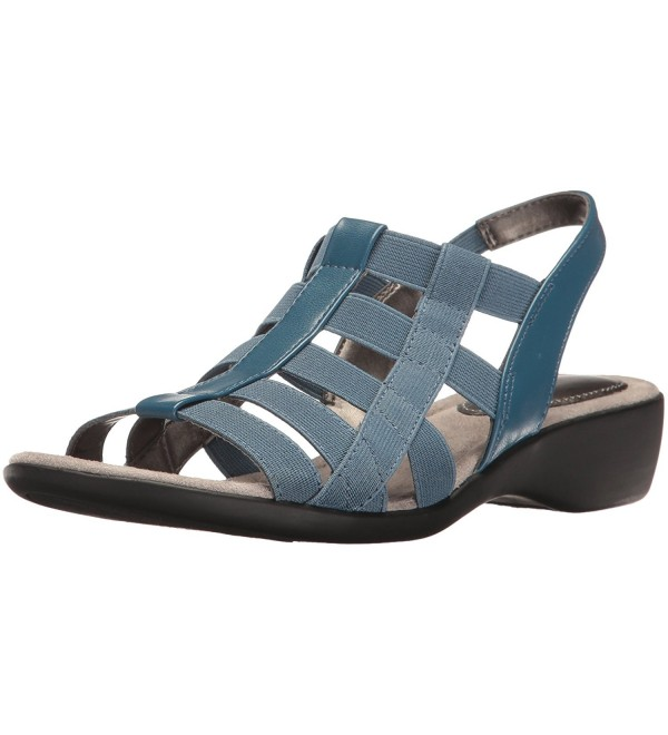 LifeStride Womens Theory Sandal Denim