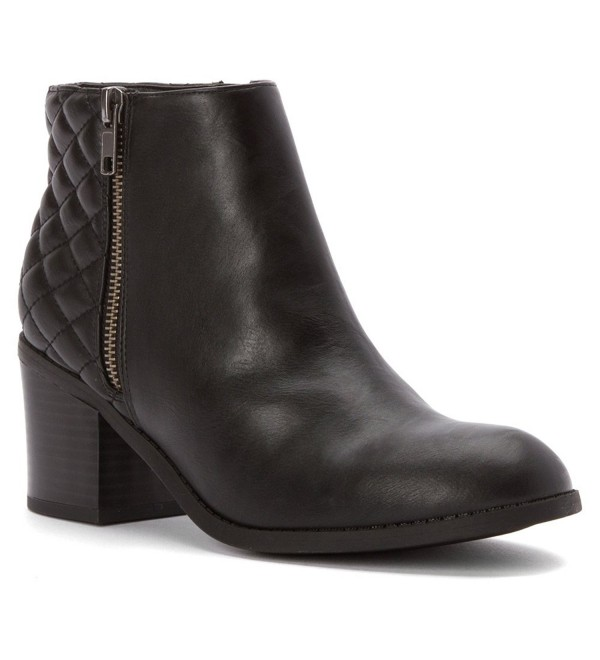 Knoxx Women Black Ankle Boot
