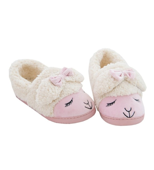 JadeRich Womens Sheep Indoor Slippers