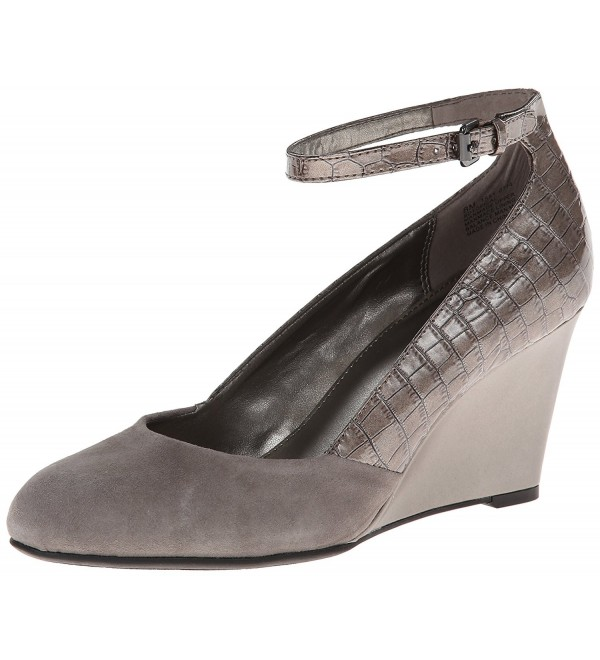 Bandolino Womens Topical Synthetic Pewter