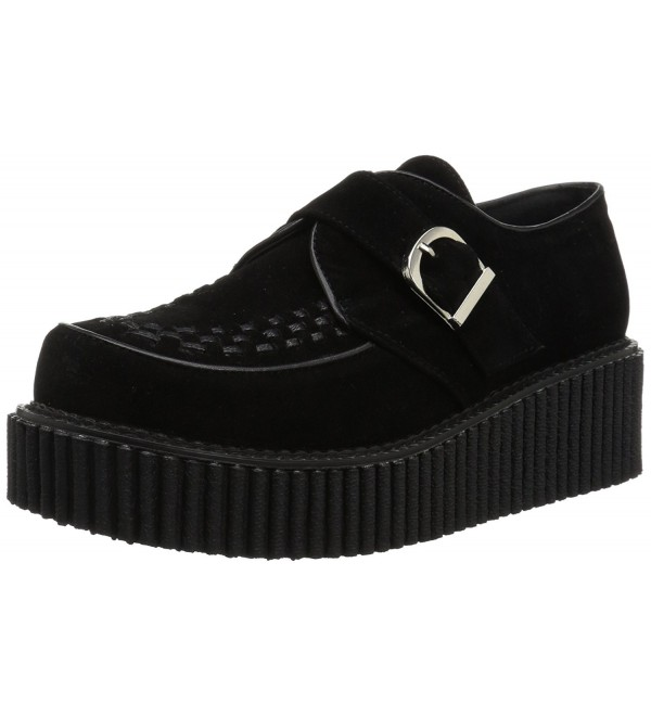 Demonia Womens Creeper 118 Sneaker Black