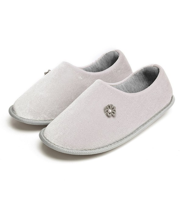 Neeseelily Womens Comfortable Cotton Slippers