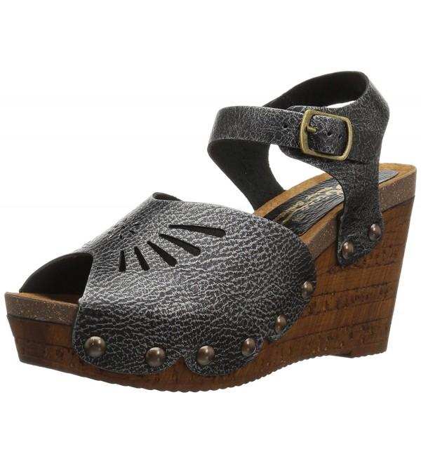 Sbicca Womens Langsa Sandal Pewter