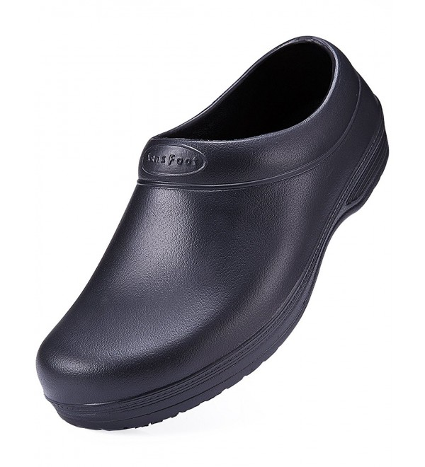 SensFoot Resistant Shoes Black Kitchen