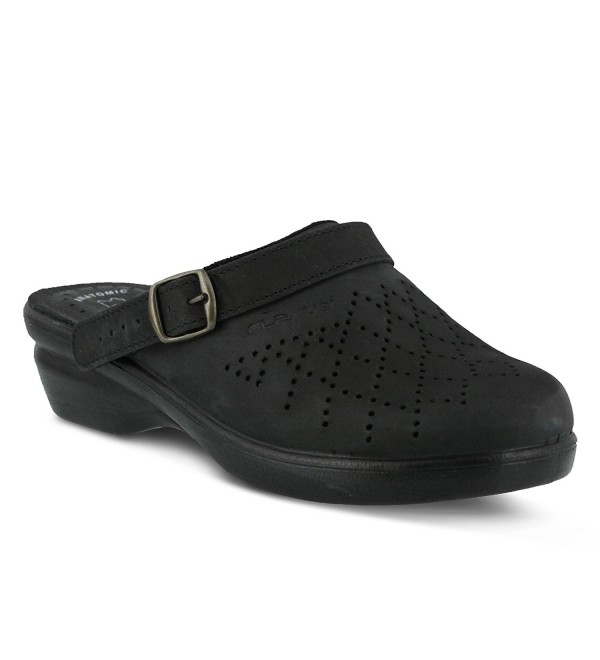 Flexus SP PRIDE BLK041MED Womens Pride Clogs
